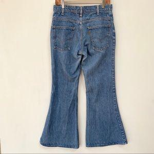 RARE VTG 1970's Levi's Orange Tag Jeans/Big Bells